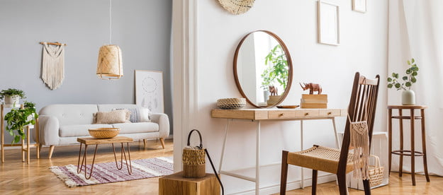 Neutral designed space