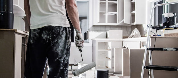 how to paint kitchen cabinets painting