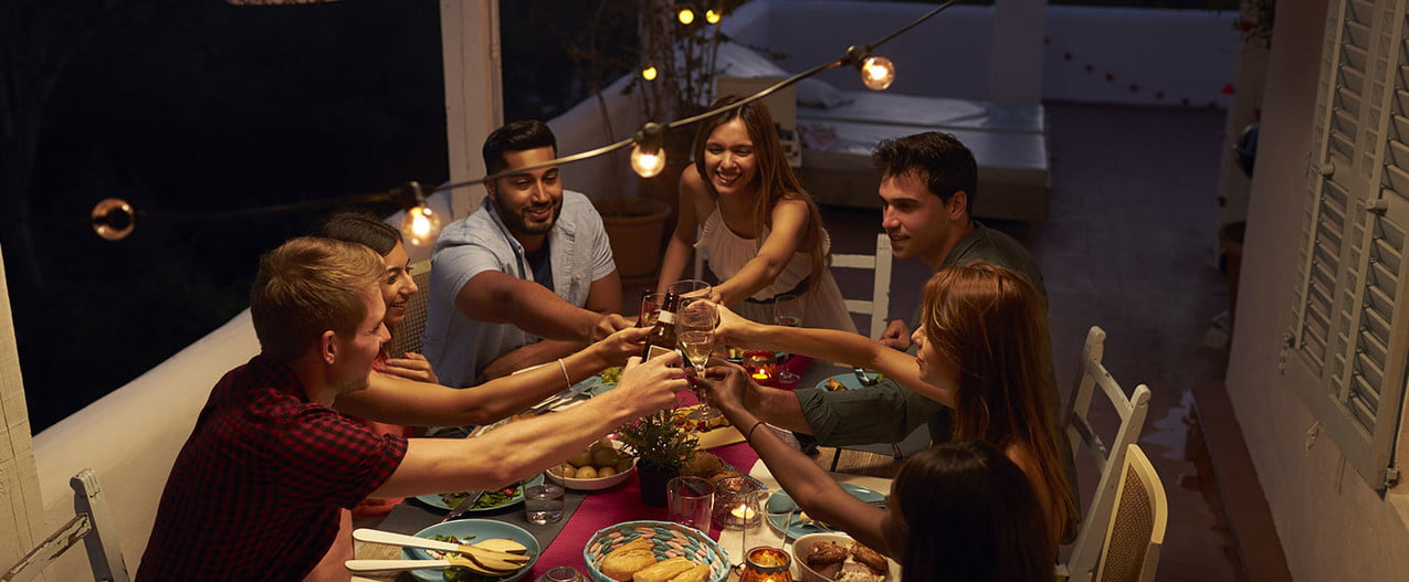 how to host a party on your patio the right way cheers