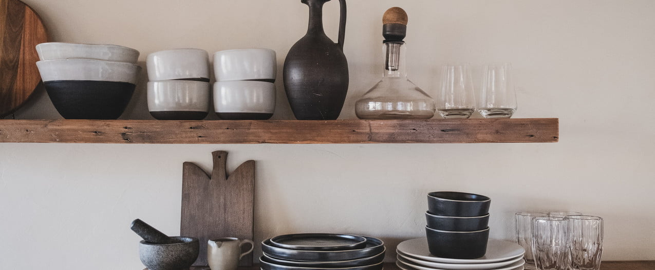 how to build rustic wood shelves floating