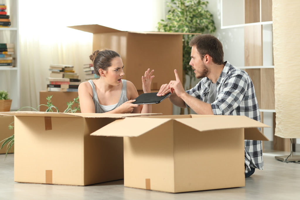Moving day argument