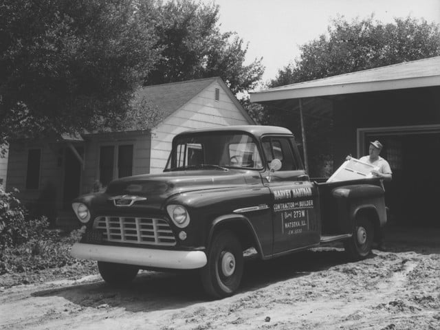 torque camionetas chevrolet 1955 3200 series half ton pickup with 265 cubic inch  4 3l v 8 engine rated at 162 horsepower and
