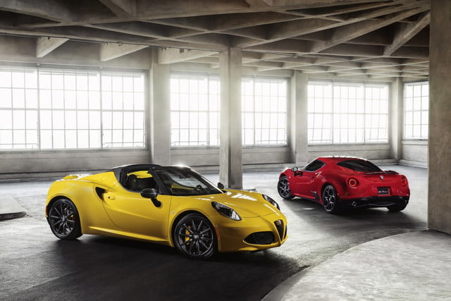 alfa romeo 4c transmision no manual 2018 spider foreground and background 640x0