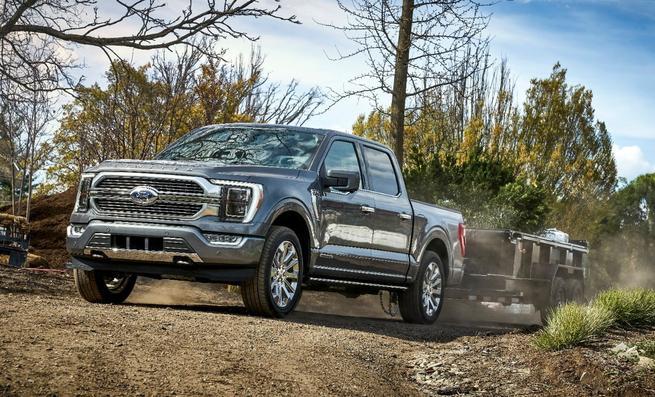 Ford F-150 Onboard Scales hawl