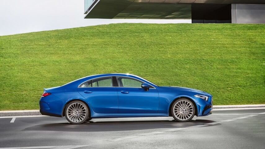2022 Mercedes-Benz CLS side view