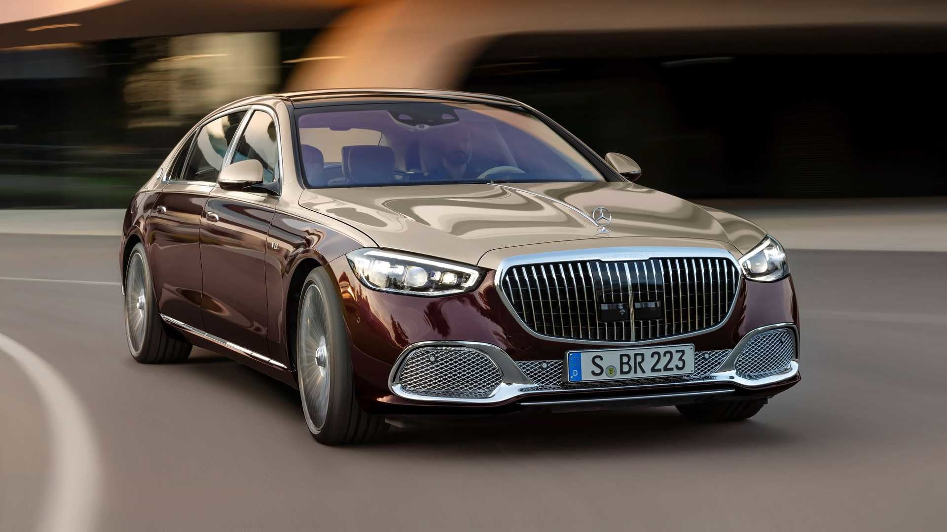 2022 Mercedes-Benz Maybach S680 front end