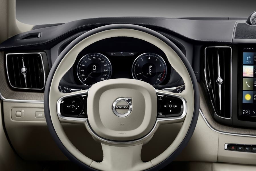 xc60 recharge t8 inscription 265691 leather fine nappa perforated blond in charcoal