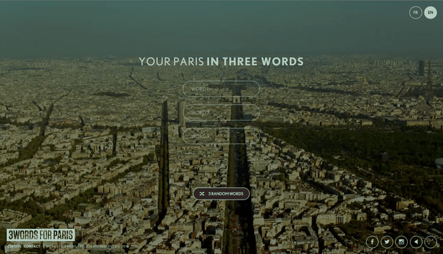 proyecto paris tres palabras 3 words for 640x0