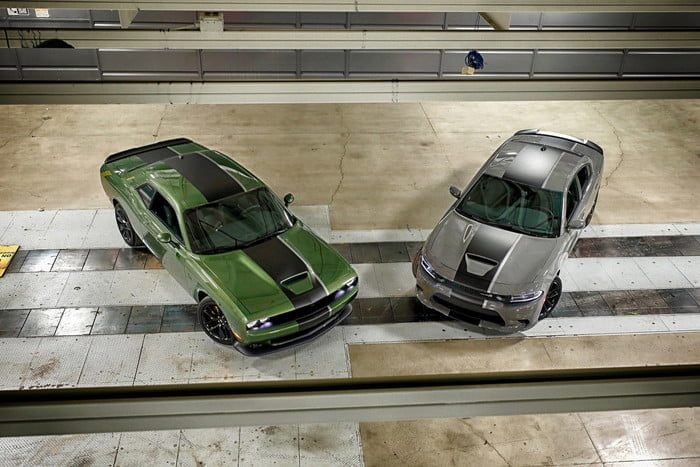 dodge challenger charger stars stripes all american performance salut