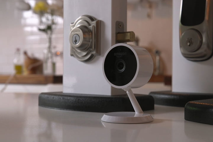 Amazon cloud cam and key
