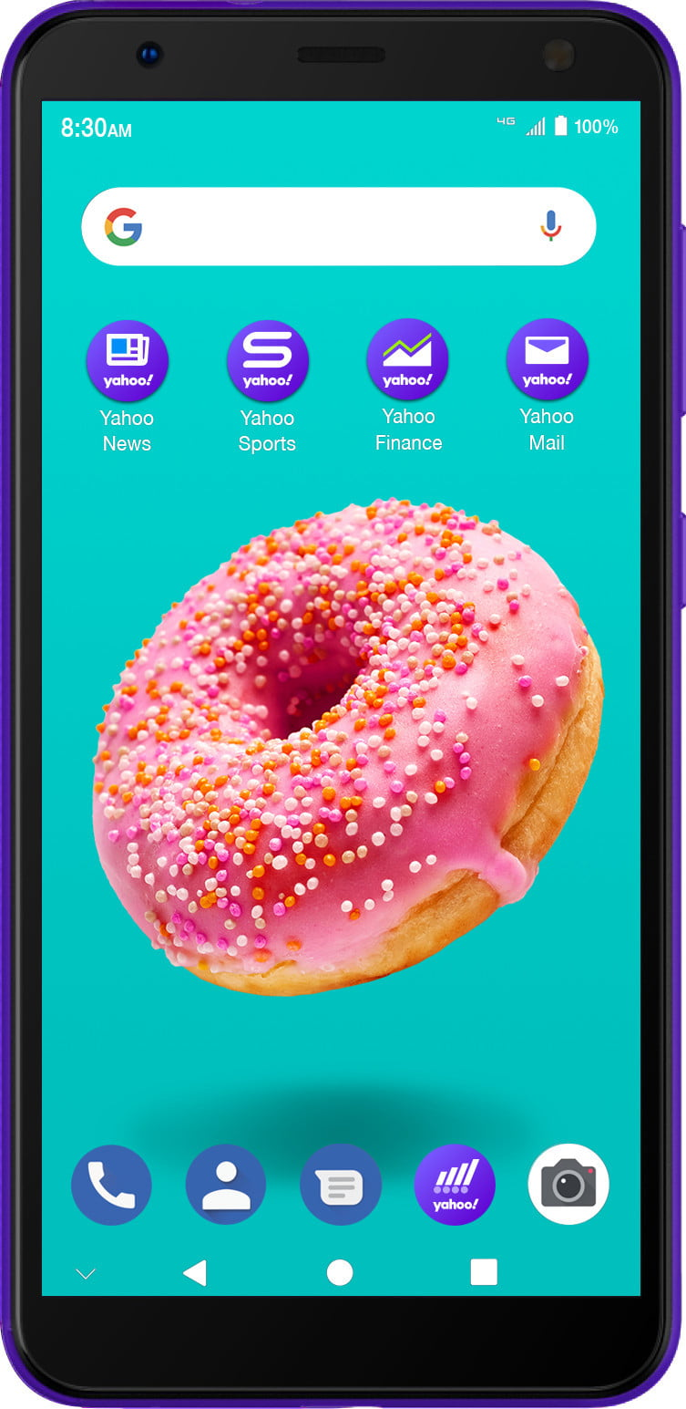 yahoo mobile zte blade a3y front