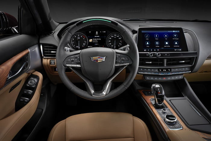 sedan cadillac ct5 2020 ct5s super cruise technology will be available in calendar year on select models 700x467 c