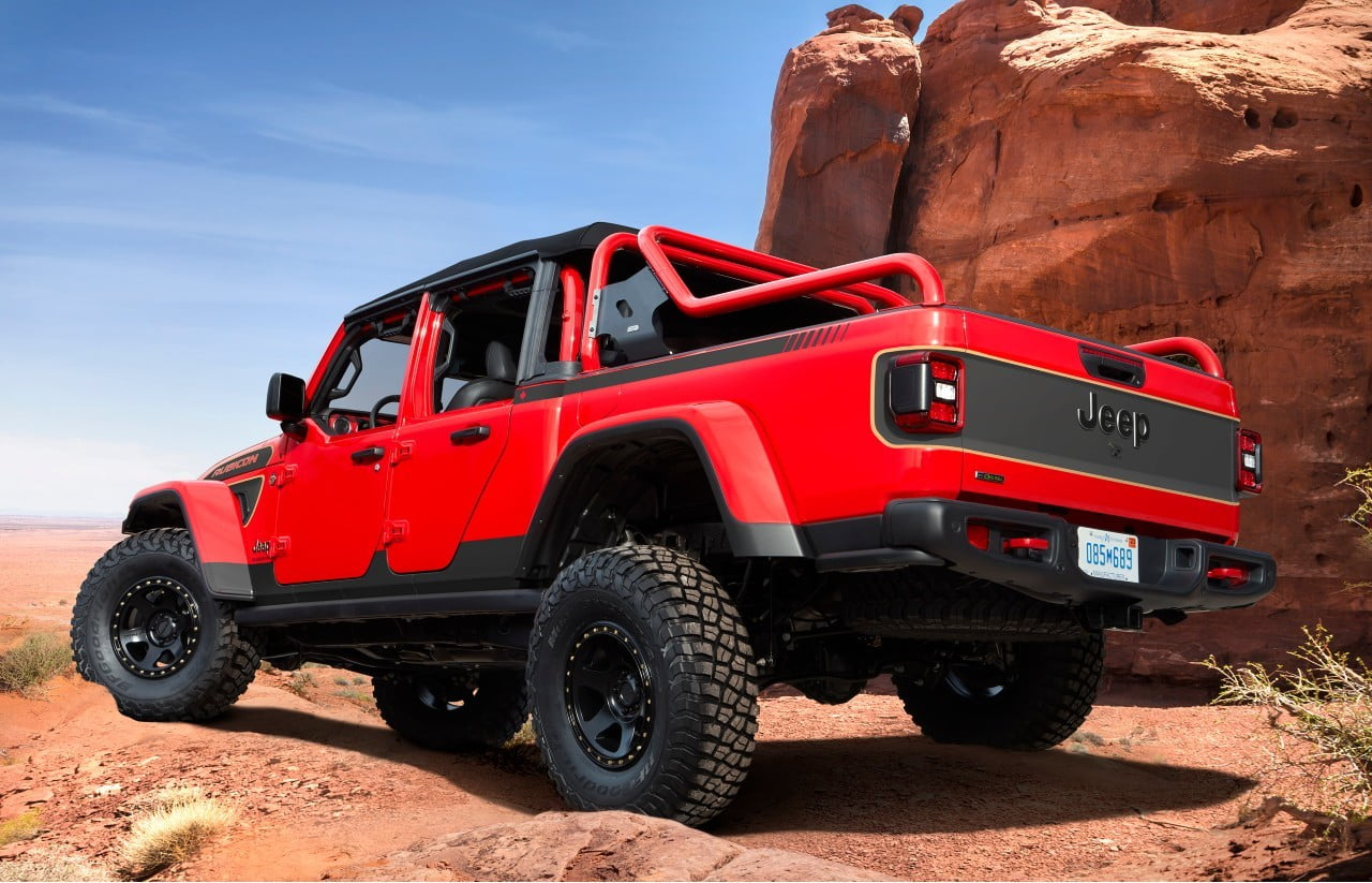 Jeep Red Bare