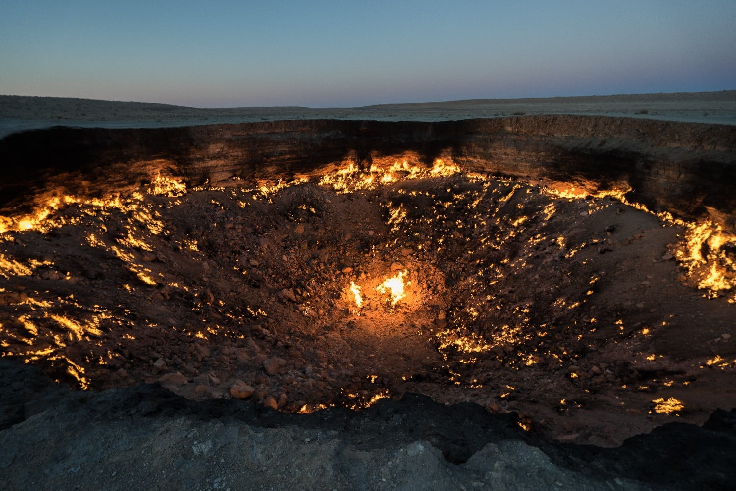 Darvaza's Gate to Hell