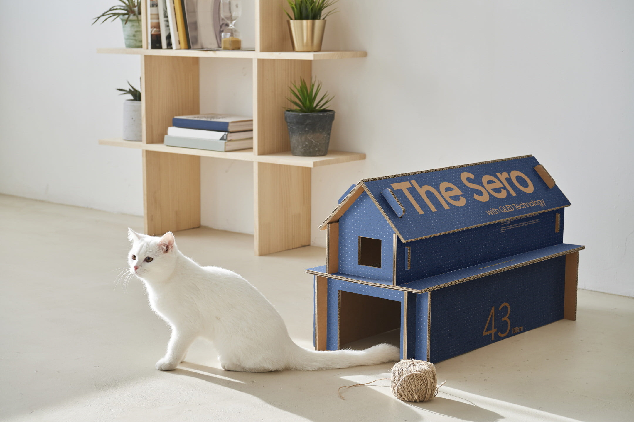 samsung cajas televisores gato eco packaging for lifestyle tv lineup 1