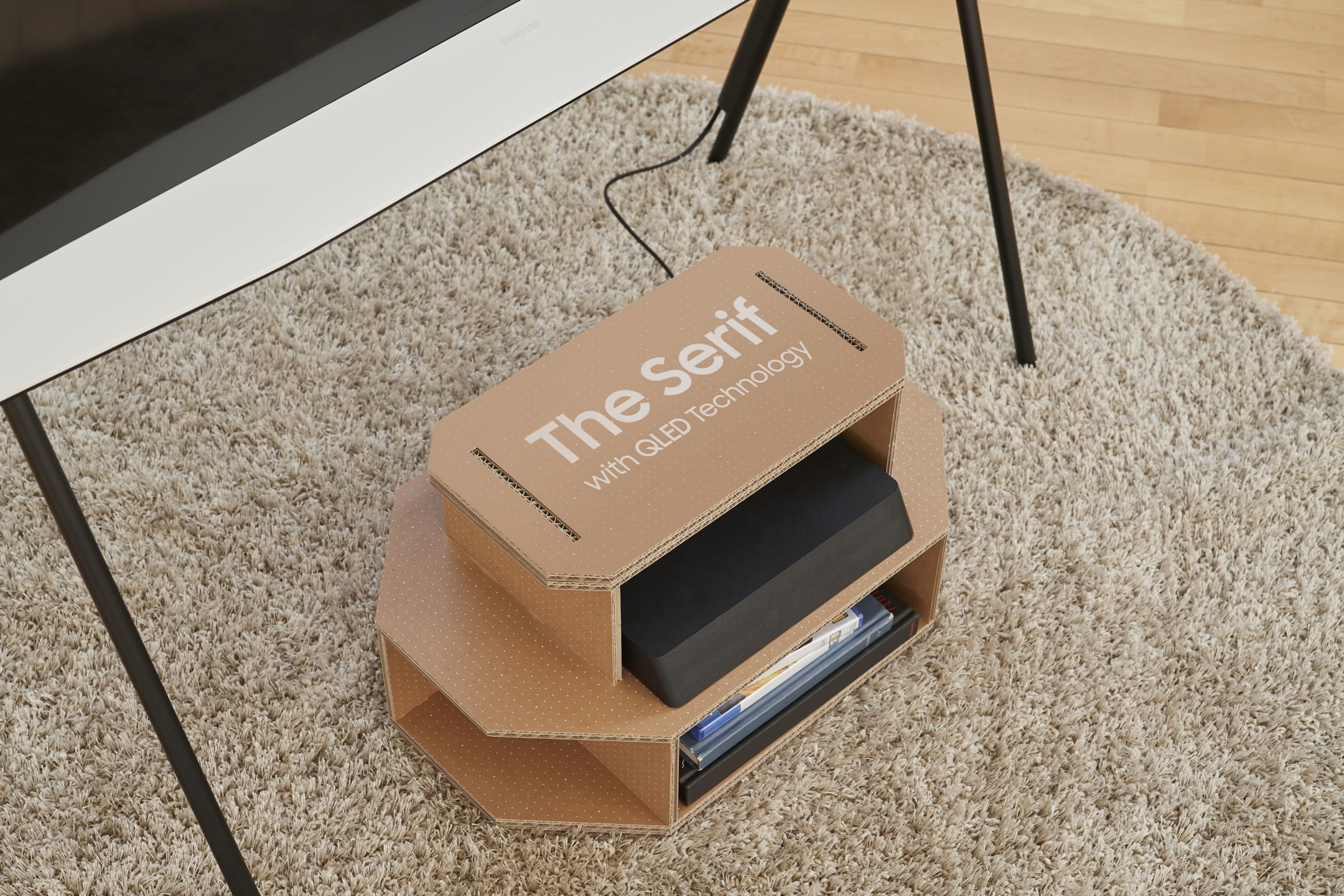 samsung cajas televisores gato eco packaging for lifestyle tv lineup 3