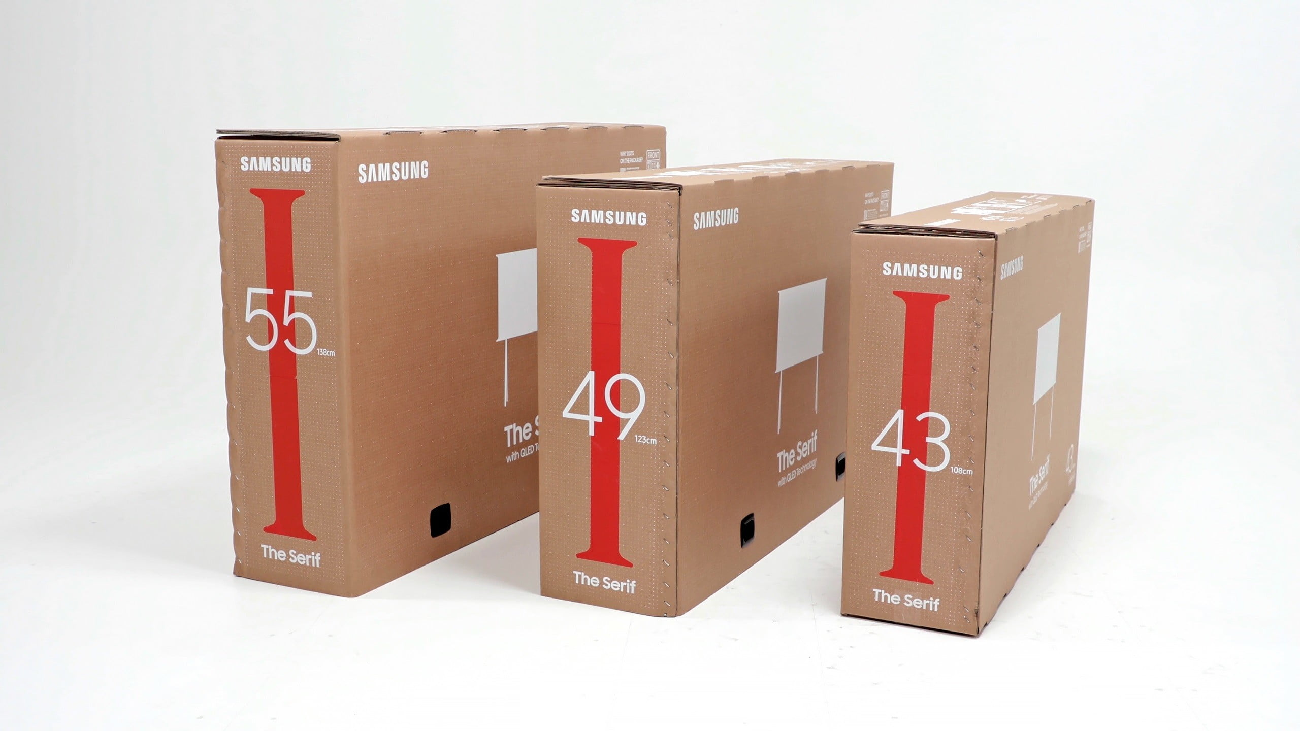 samsung cajas televisores gato eco packaging for lifestyle tv lineup 5
