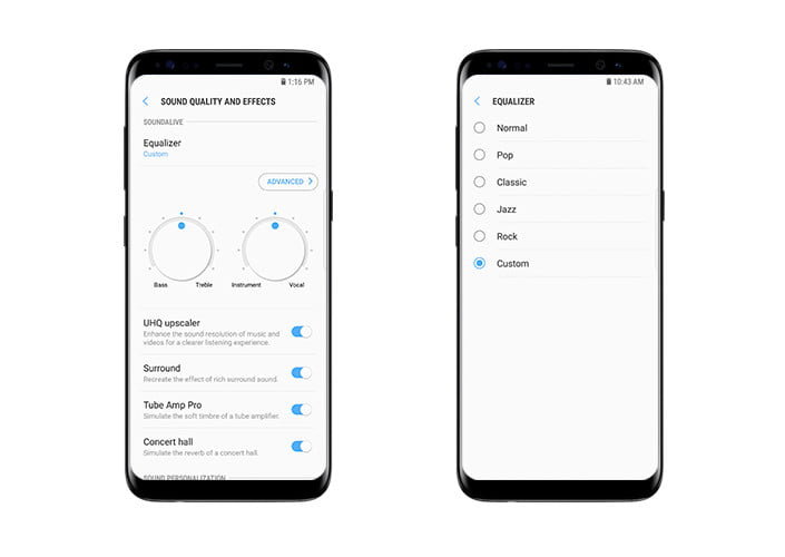 funciones audio samsung galaxy s8 everything about s8s main 4 f