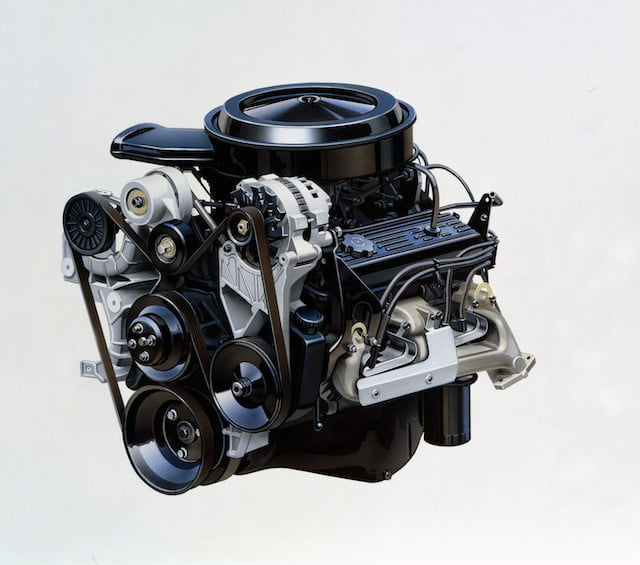torque camionetas chevrolet fuel injected 350 cubic inch  5 7l small block v 8 engine rated at 210 horsepower and 300 lb ft o