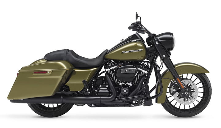 harley road king 2017 negro special feat