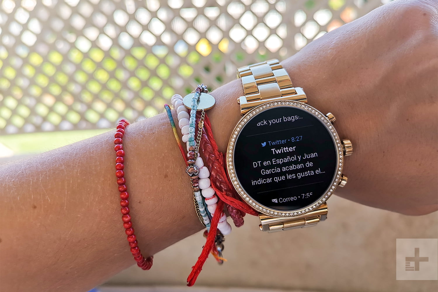 revision michael kors sofie heart rate 5