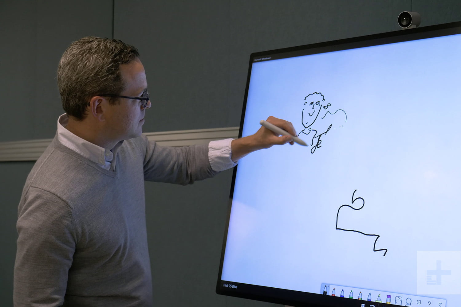 revision surfacehub 2s microsofthub2s handson 2