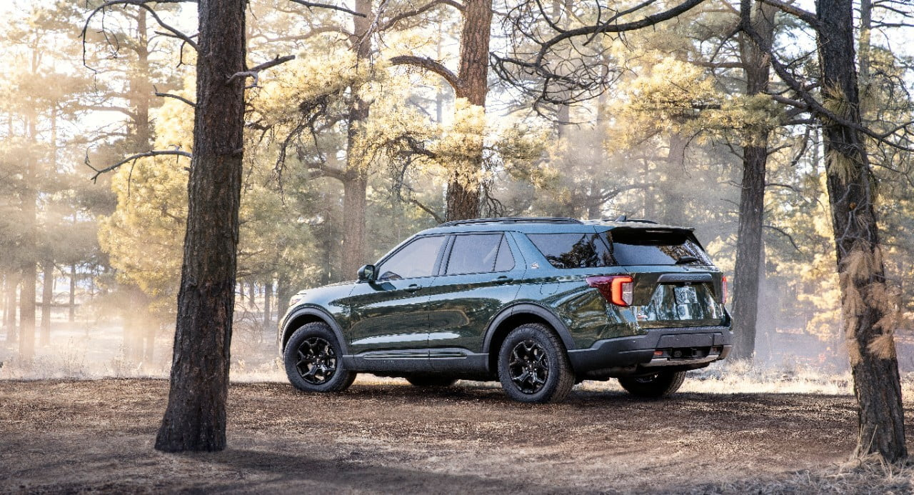 2021 Ford Explorer Timberline rear