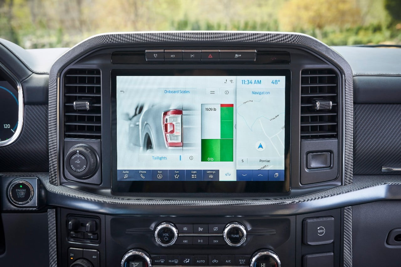 Ford F-150 Onboard Scales screen 2