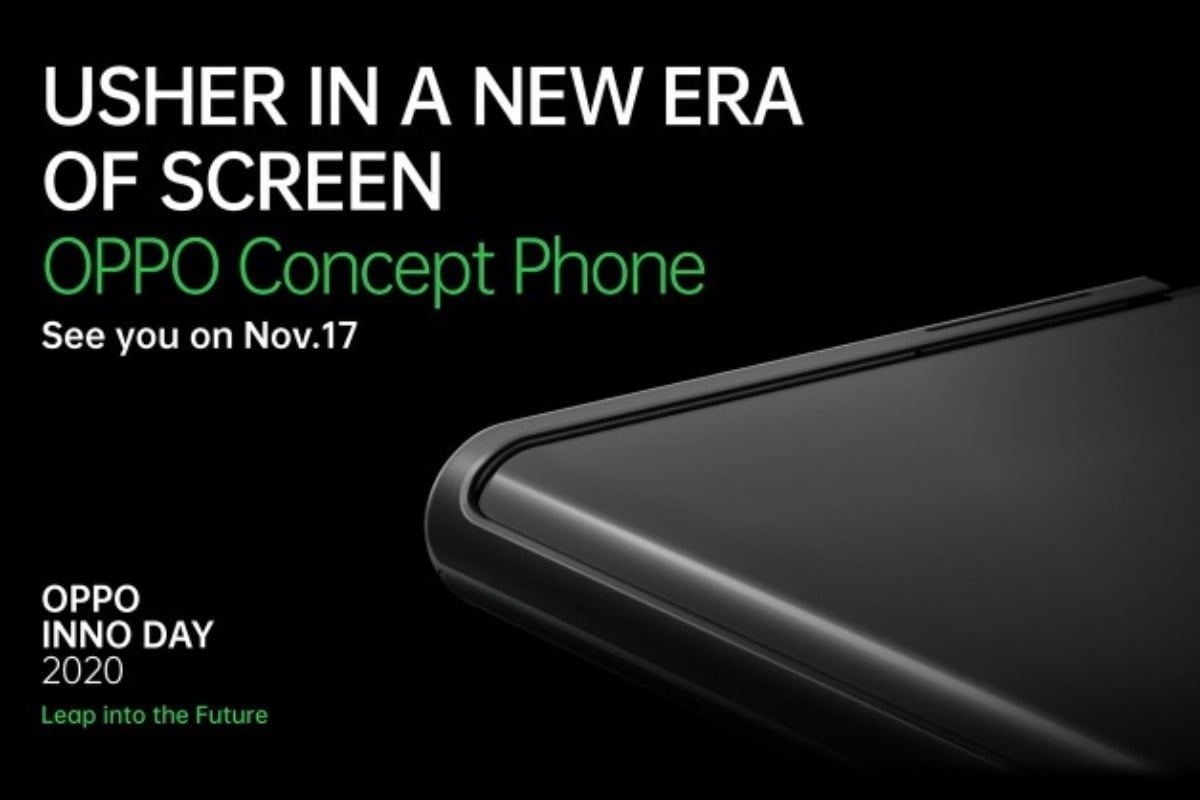oppo telefono enrollable concept phone inno day 2020