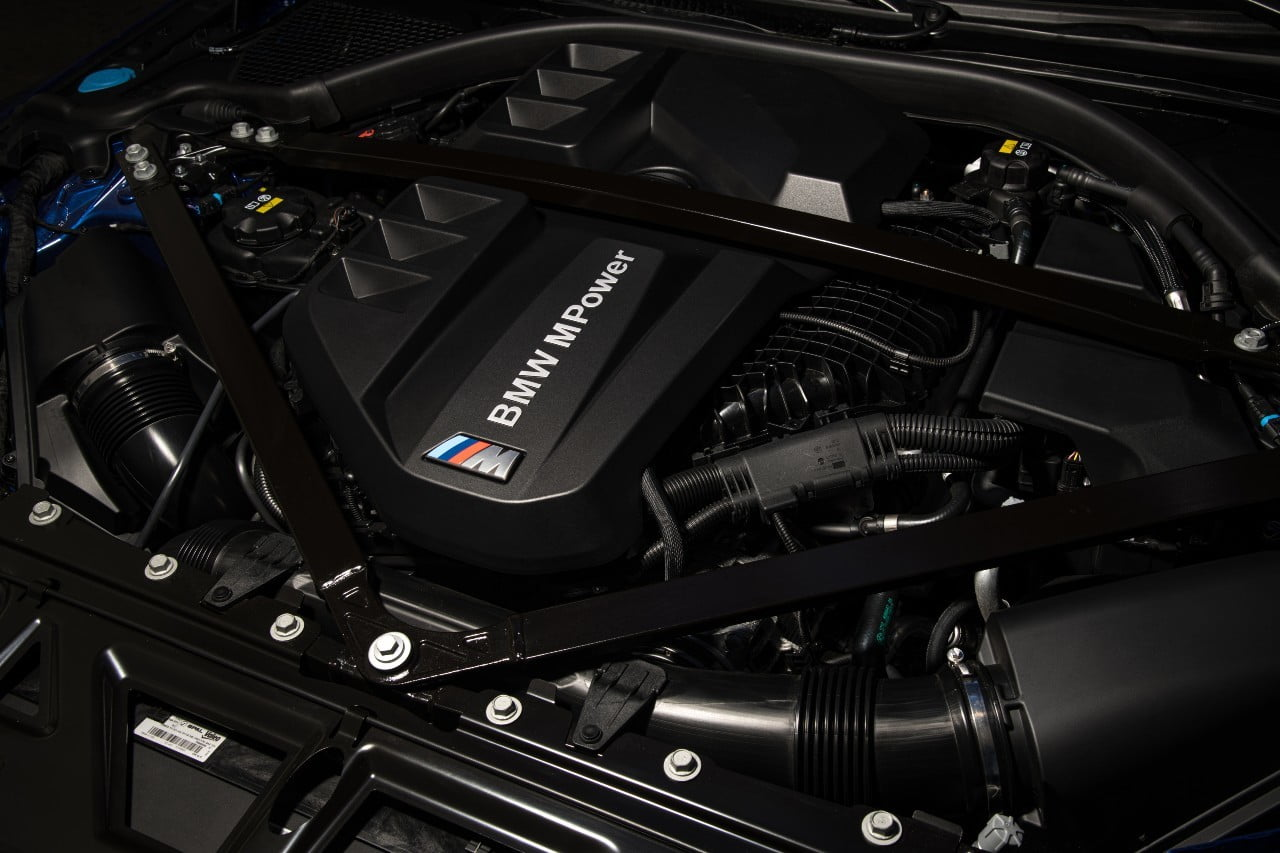 engine BMW M4 Competition