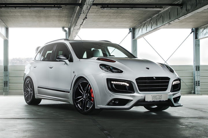 techart cayenne tuning porsche turbo s by feat