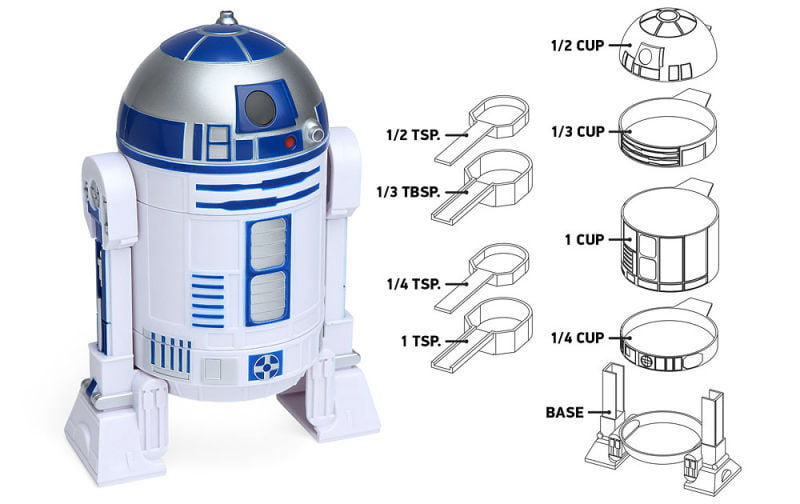 cafetera a presion r2 d2