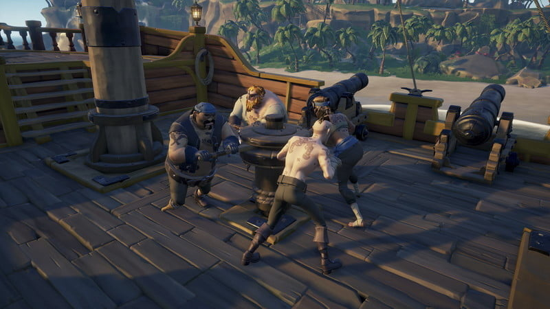 sea of thieves revision co operation