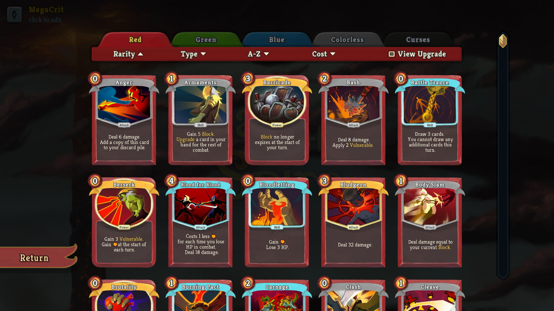 revision slay the spire 5