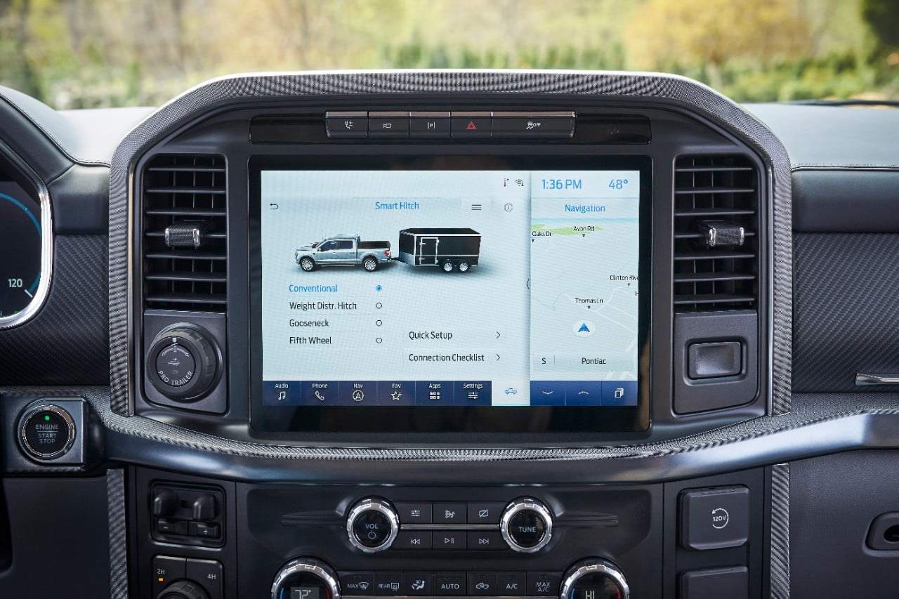 Ford F-150 Onboard Scales Smart hitch