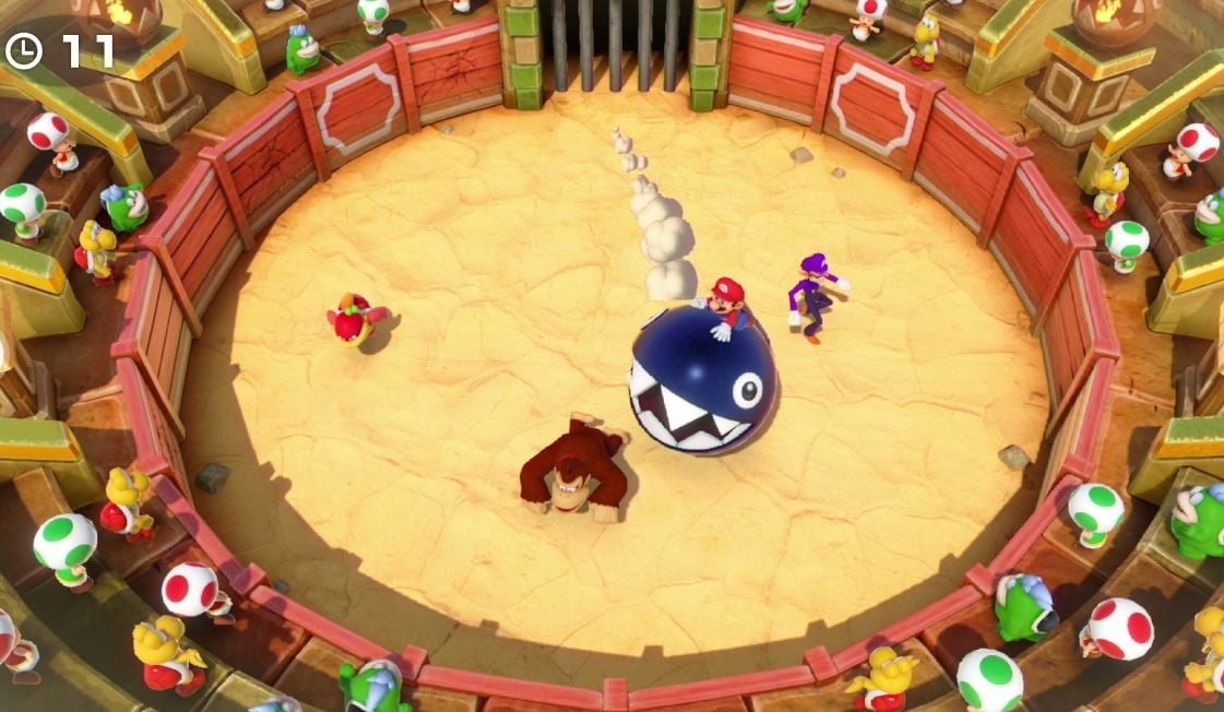 revision super mario party para switch 4