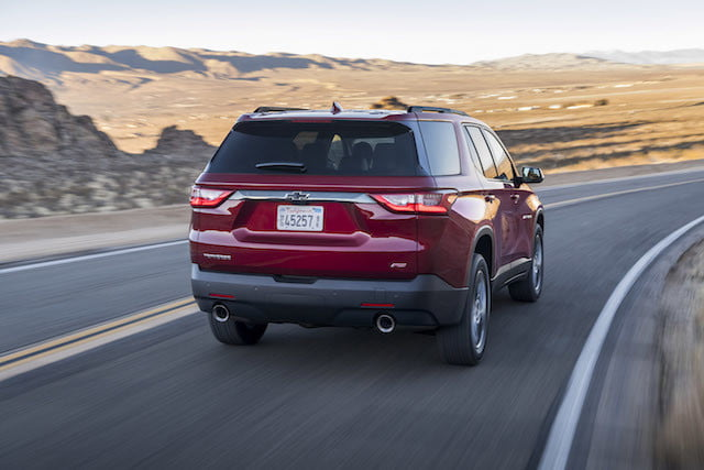 chevy traverse rs turbo chevrolet 2018 3