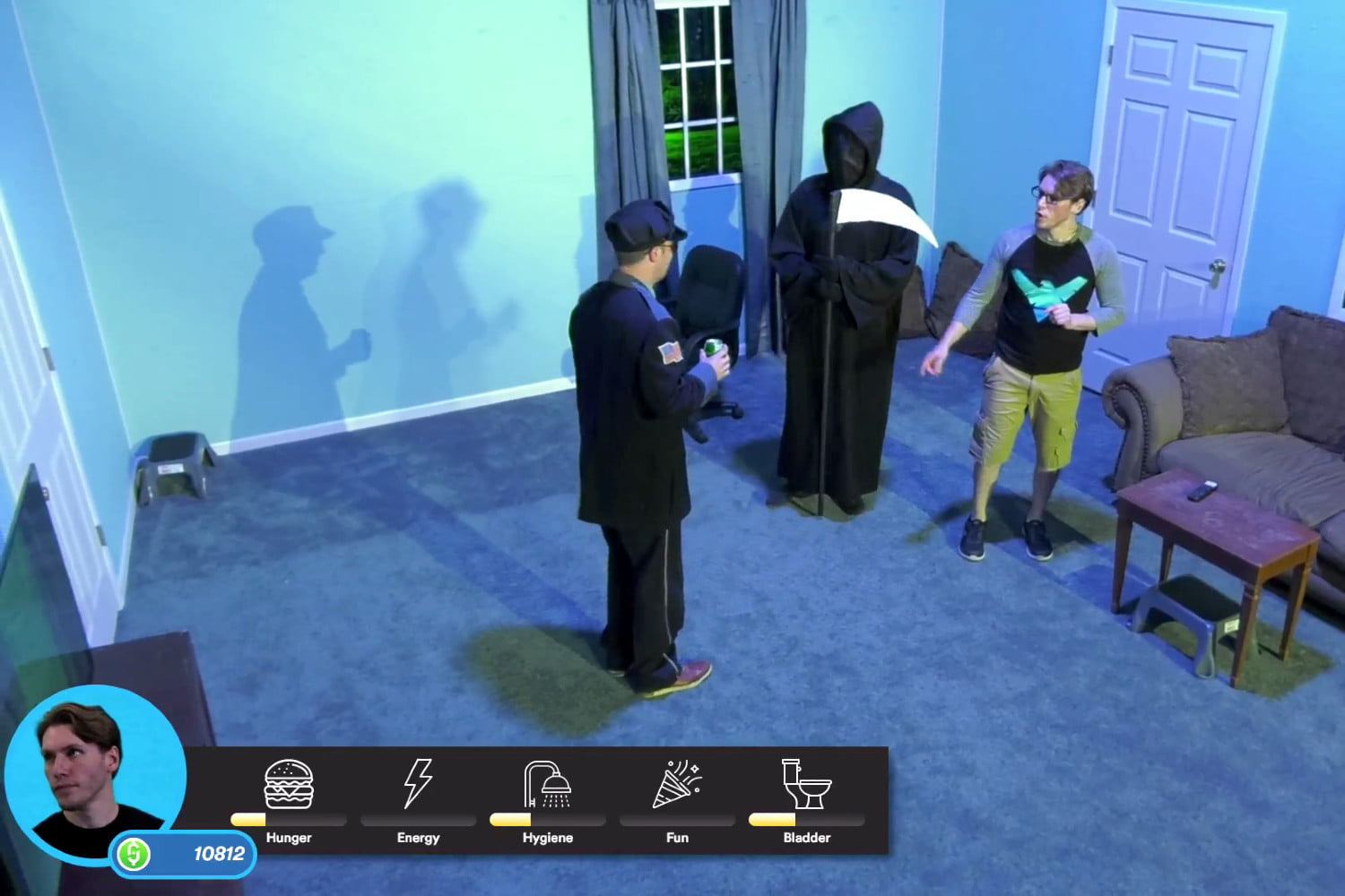 streamer twich audiencia the sims twitch