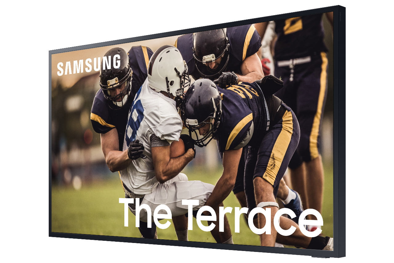 samsung television the terrace