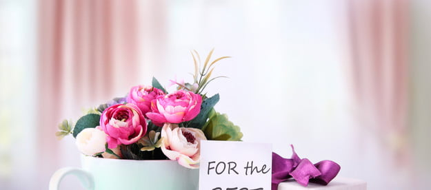 Mother's Day gifts with a card