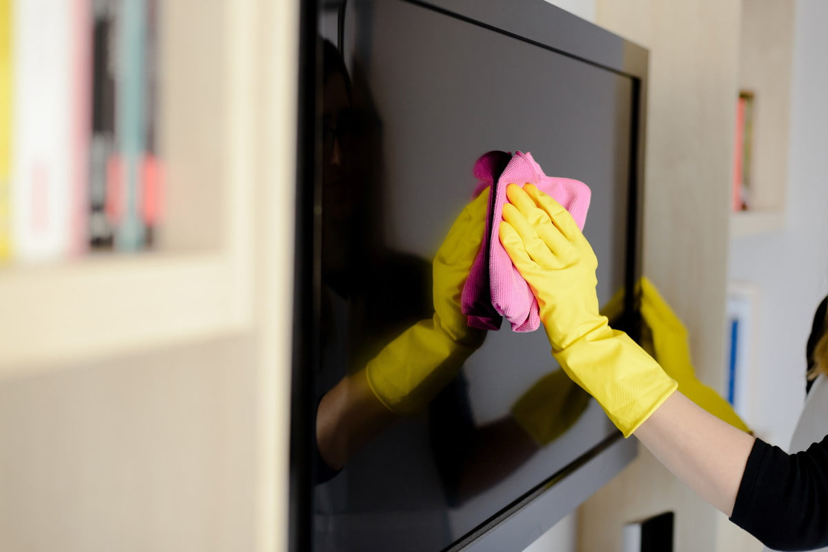 Spring cleaning 101: How to clean a TV | NewFolks