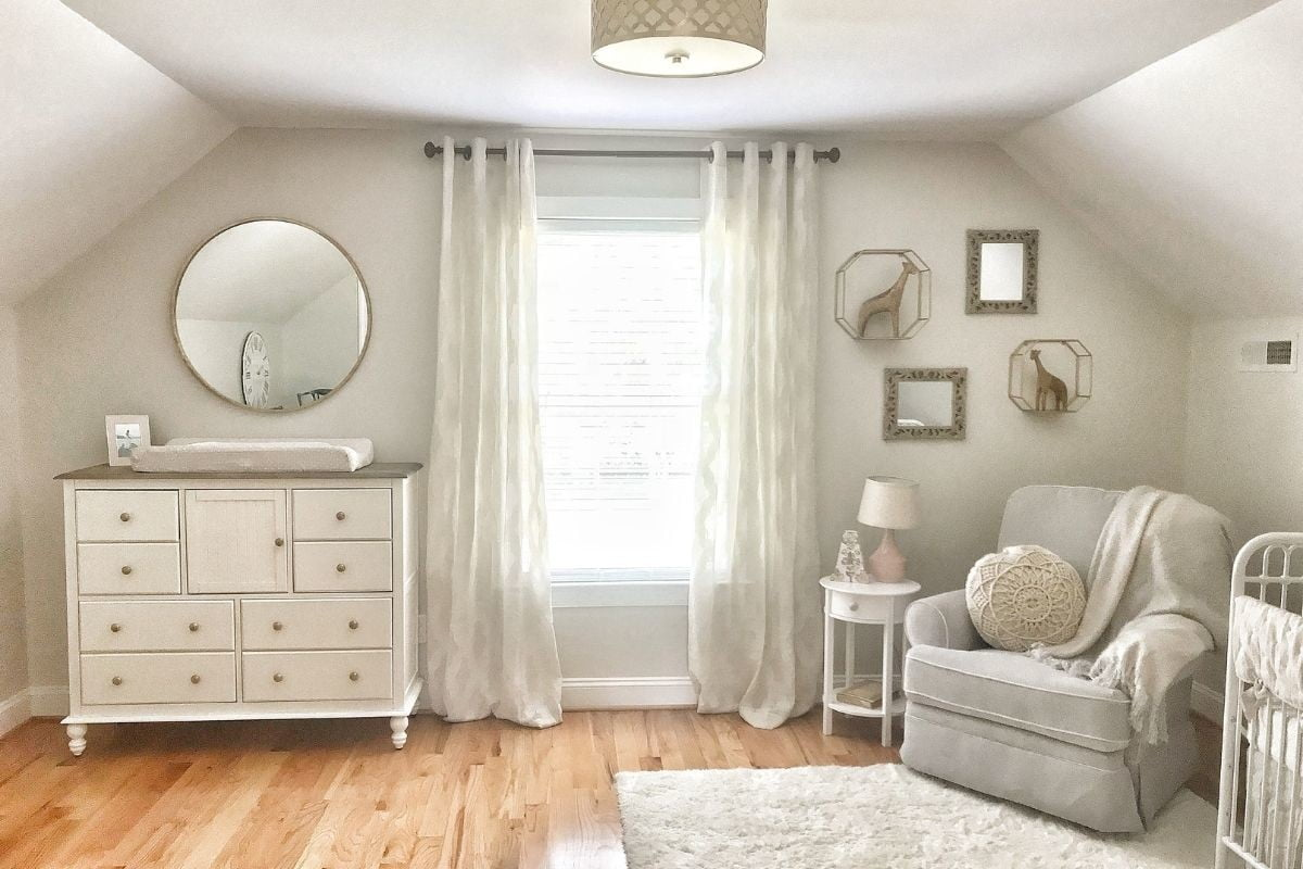 A Simple DIY Guide for a Neutral Baby Nursery | NewFolks