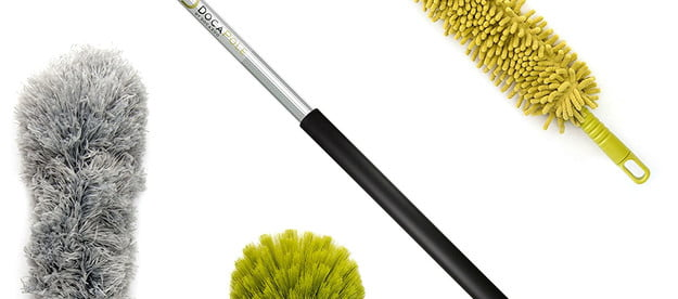 the best cobweb dusters with extension poles duster