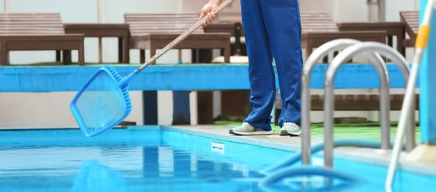 the best pool skimmer net for ground and above pools