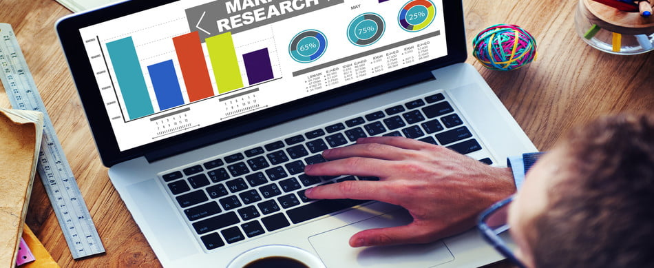 market research roofing business percentage marketing strategy concept